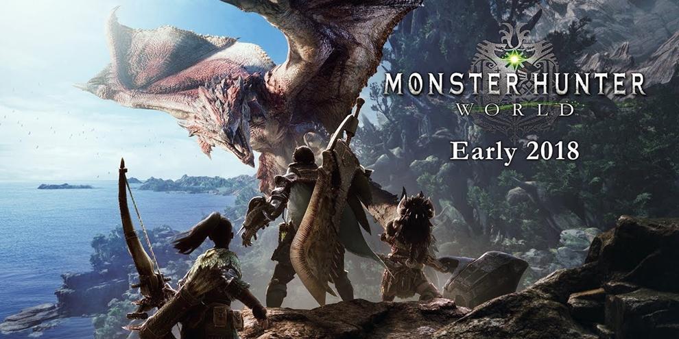 Monster Hunter World, game