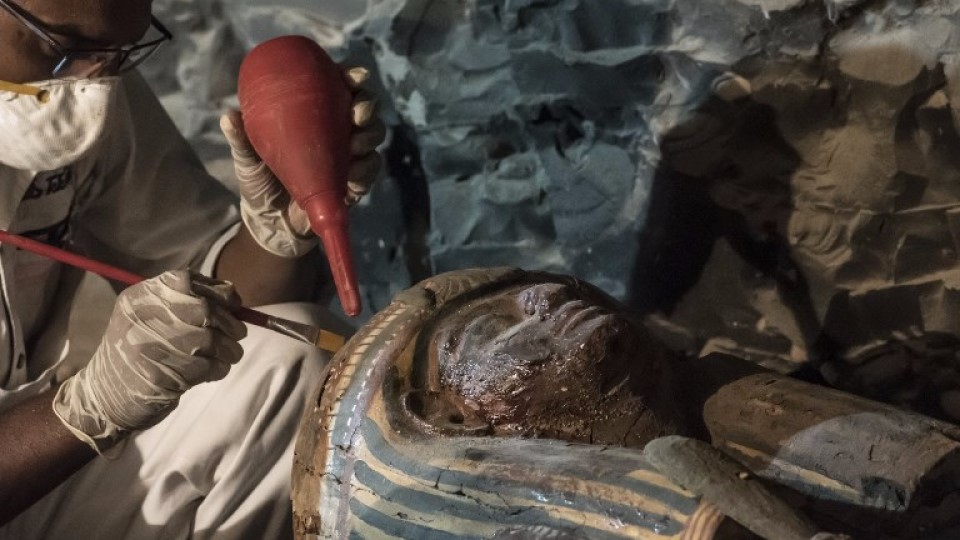 sarcófago antigo egito