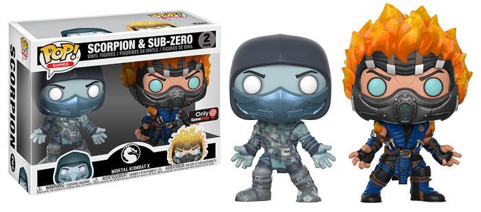 Funko Pop terá linha de bonecos de Mortal Kombat com 9 personagens
