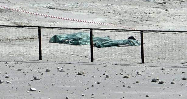 corpos dos falecidos