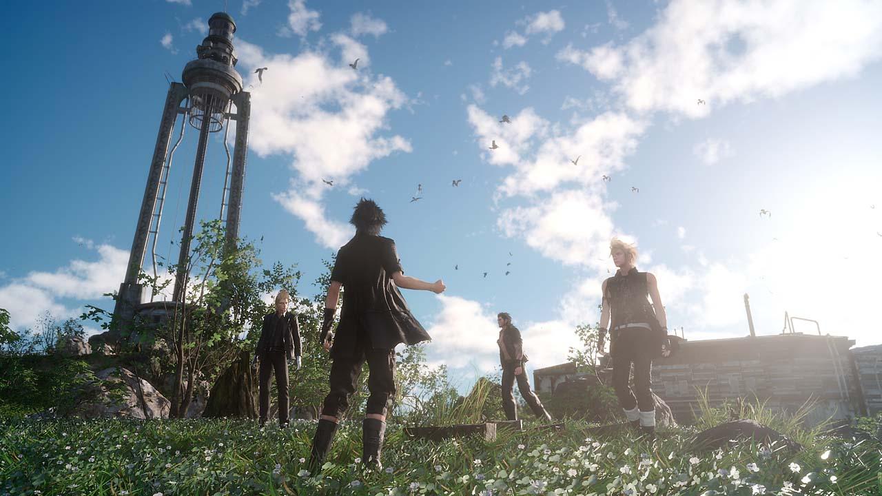 Final Fantasy XV, jogo, game