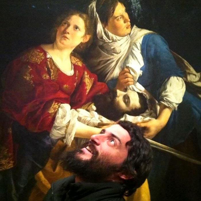 Sósia decapitado