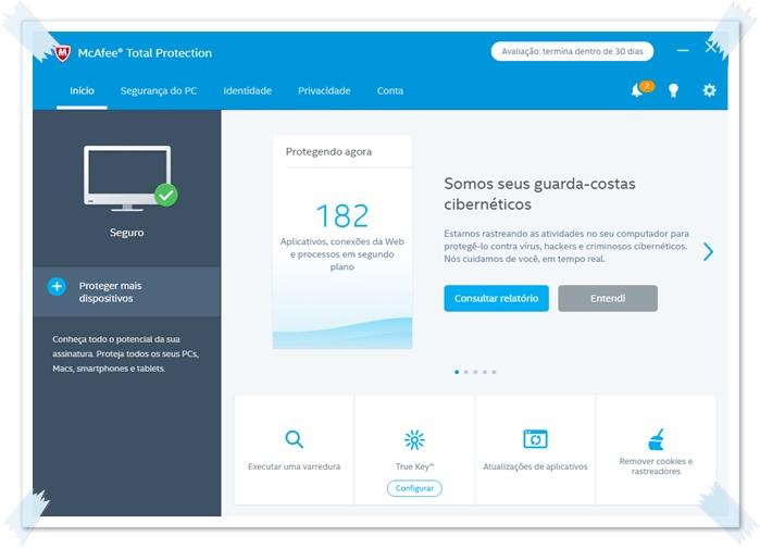 McAfee Total Protection Download to Windows em Português Grátis