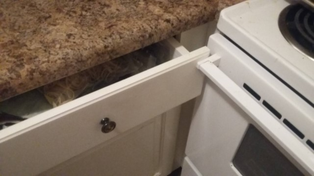 Um forno