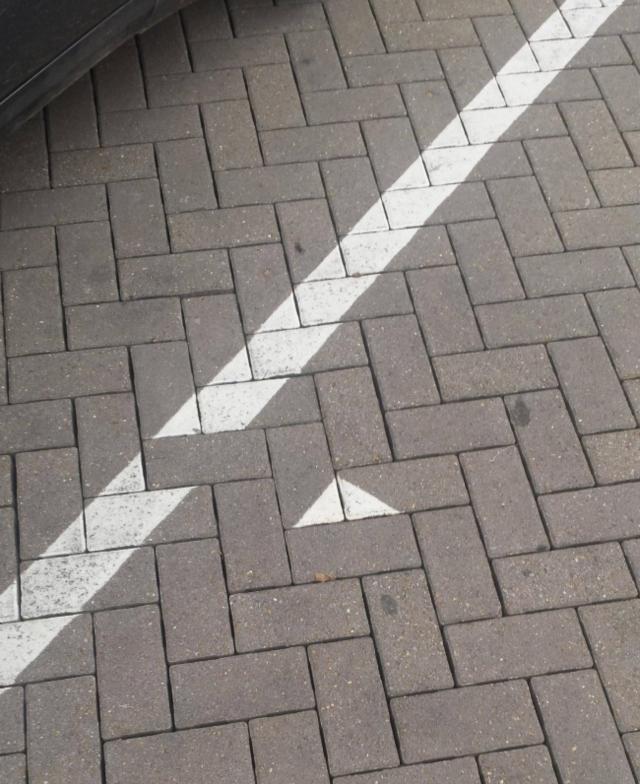Uma calçada