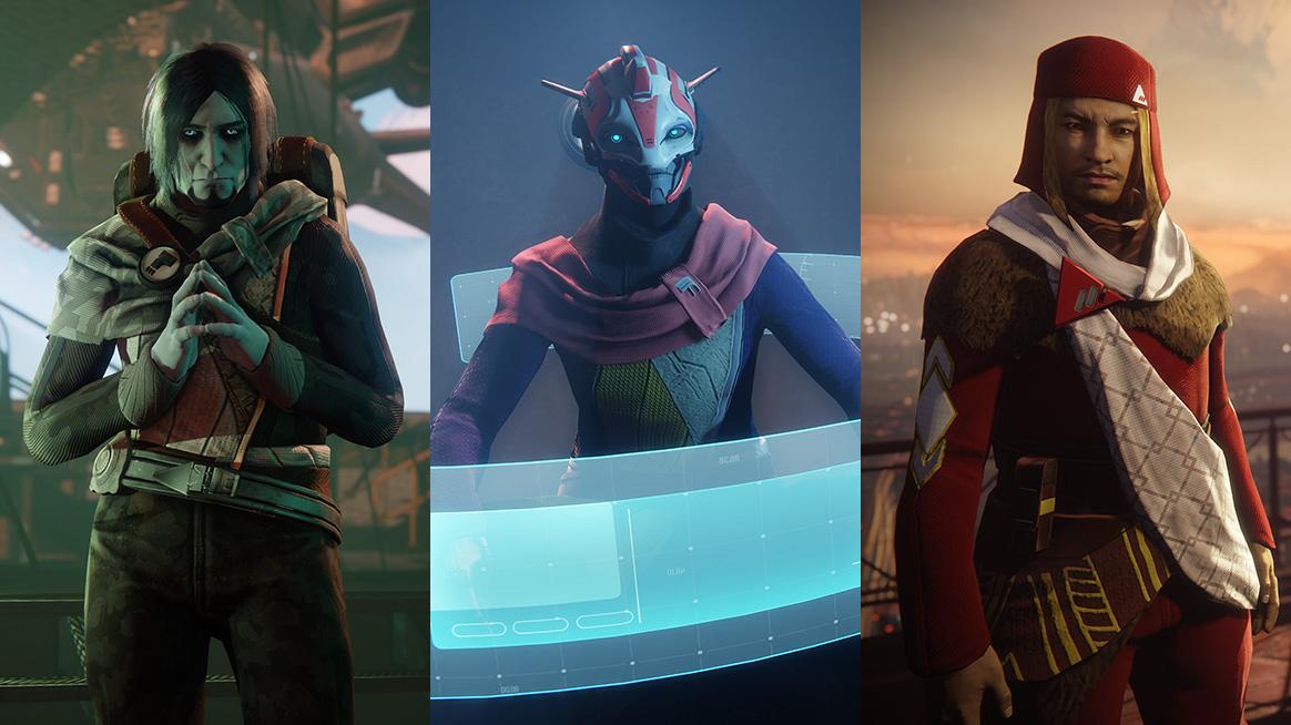Facções Destiny 2