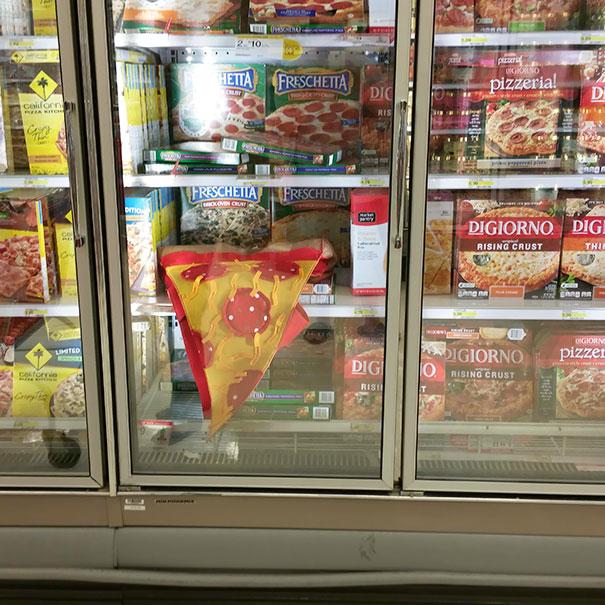 Geladeira de supermercado