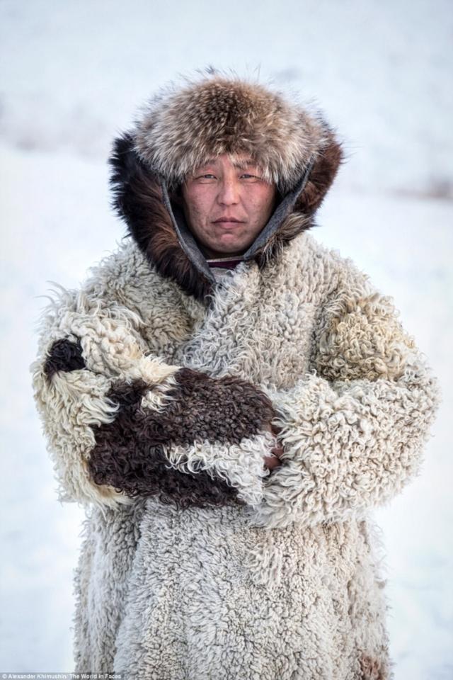 Um pé de ovelhas na neve