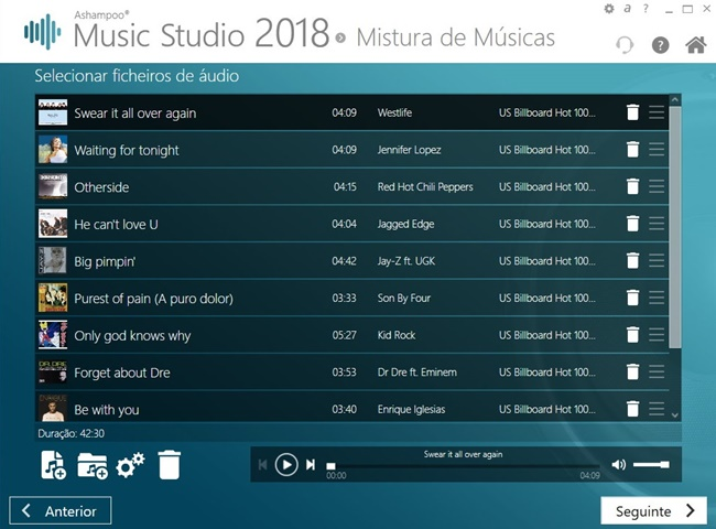 Ashampoo Music Studio 2018 - Imagem 2 do software