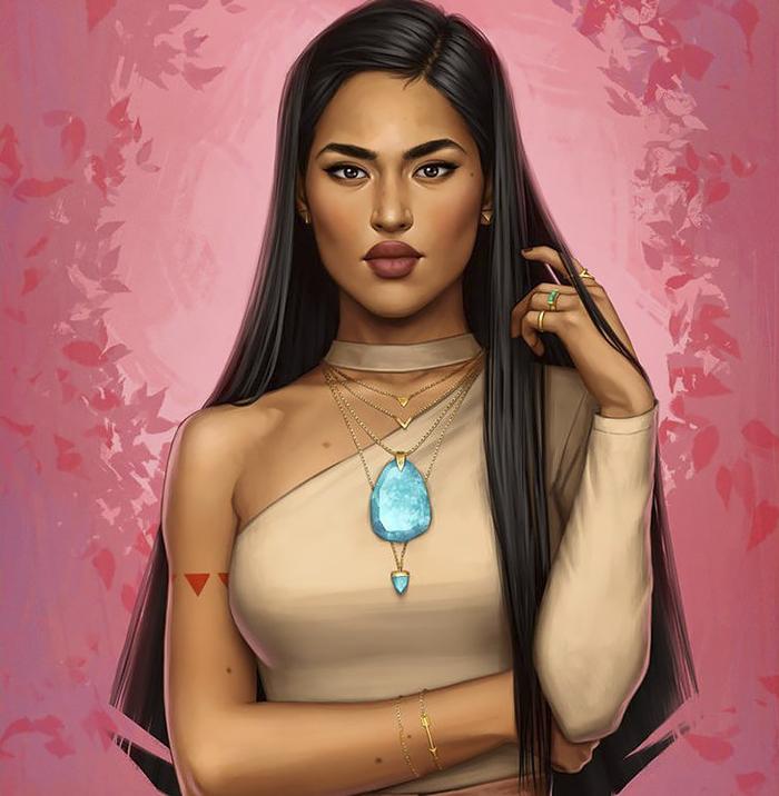 Pocahontas moderna