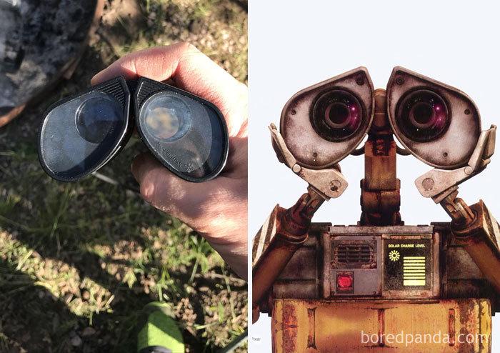 Binóculos ou Wall-E?
