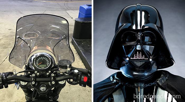 Parece o Darth Vader