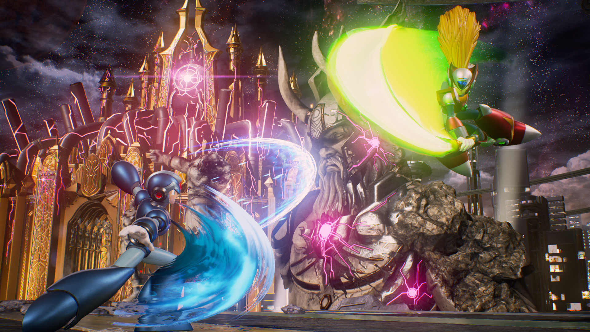 Mega Man X e Zero