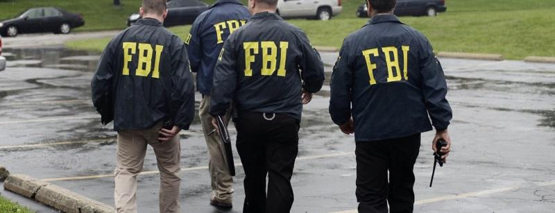 Um grupo de agentes do FBI