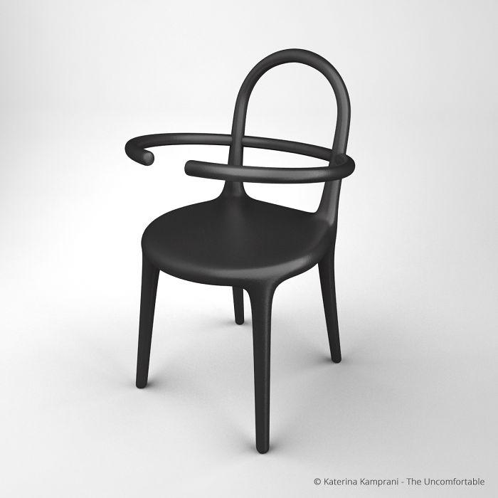 Um perto de uma cadeira