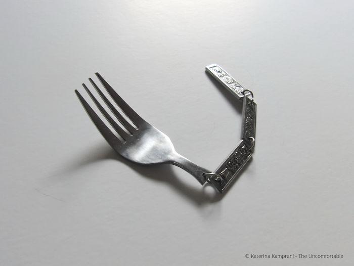 Um perto de uma faca