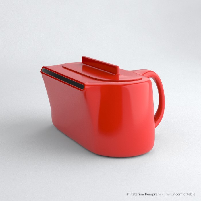 Uma caixa vermelha