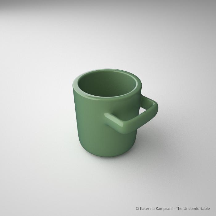 Uma xícara de café