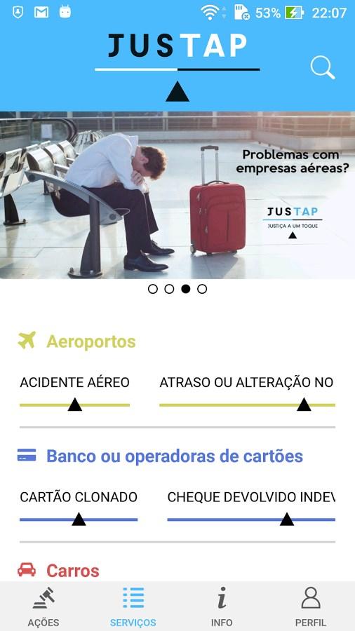 JusTap Cidadão - Imagem 1 do software