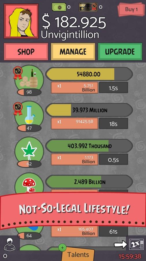 Geeks vs Gangsters - Idle Game - Imagem 2 do software