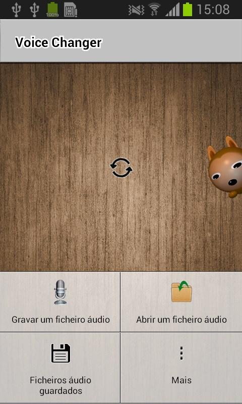 Voice Changer - Imagem 1 do software