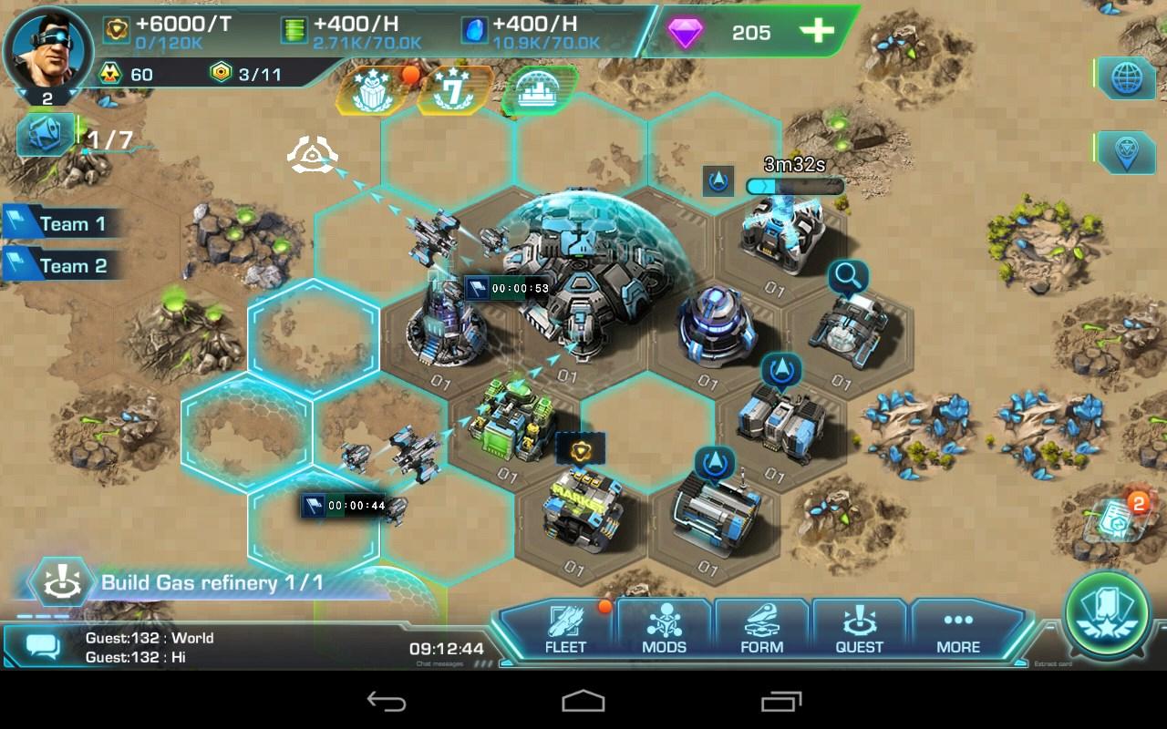 Galaxy Fleet: Alliance War - Imagem 1 do software