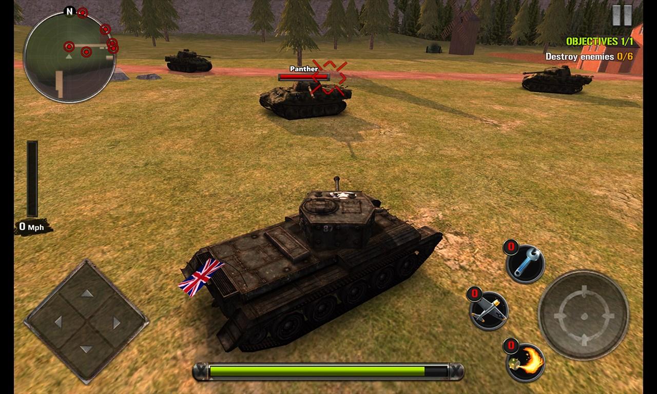 Tanks of Battle: World War 2 - Imagem 1 do software