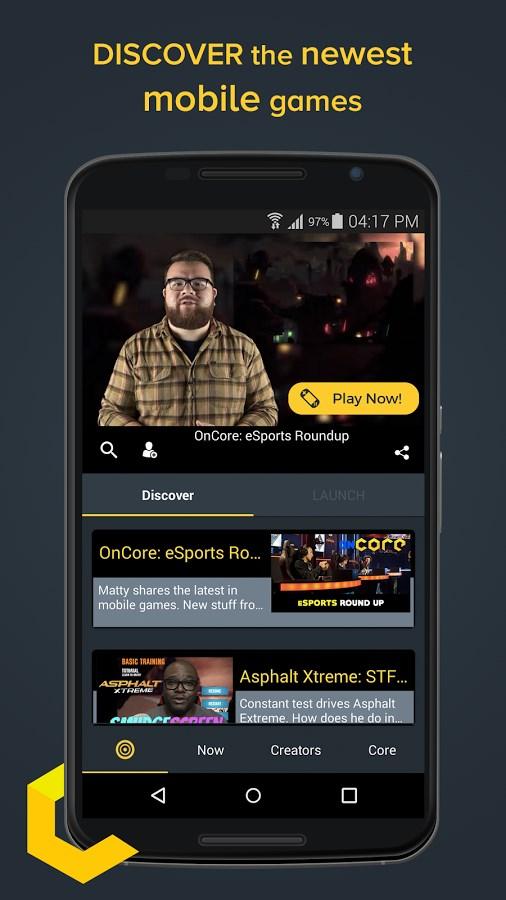 Core - Mobile Games Video - Imagem 1 do software