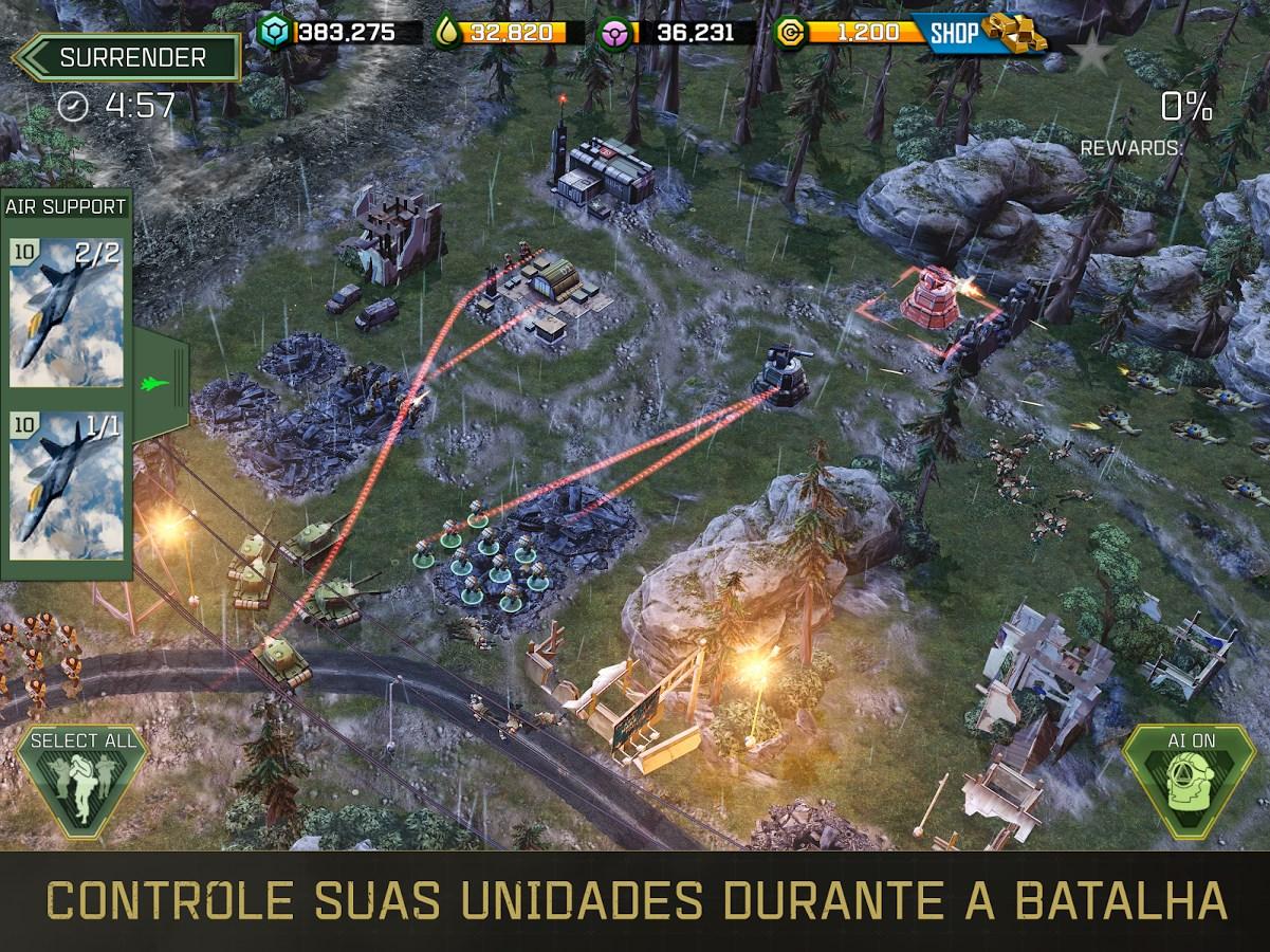 War Commander: Rogue Assault - Imagem 1 do software