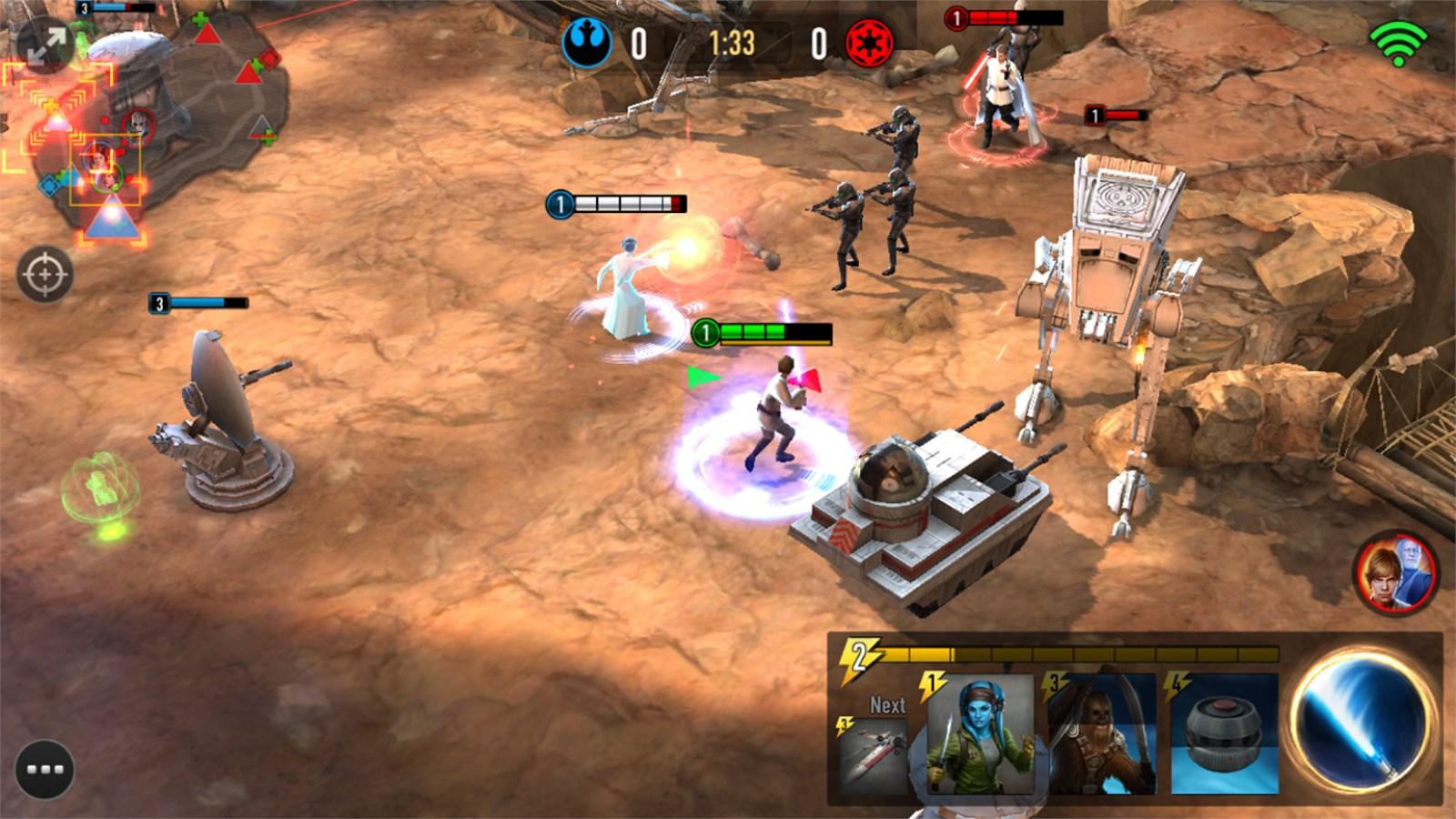 Star Wars: Force Arena - Imagem 1 do software