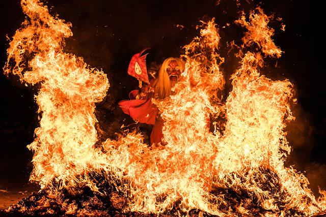 Festival do fogo de Hokkaido