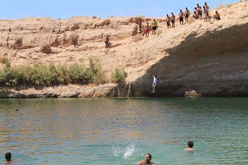 Lago surgiu em uma região extremamente árida