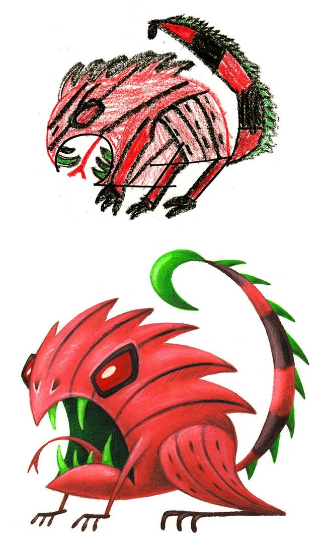 A criatura maligna