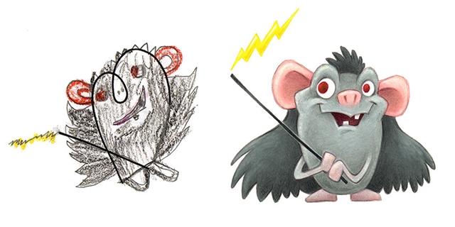 O roedor e sua varinha mágica