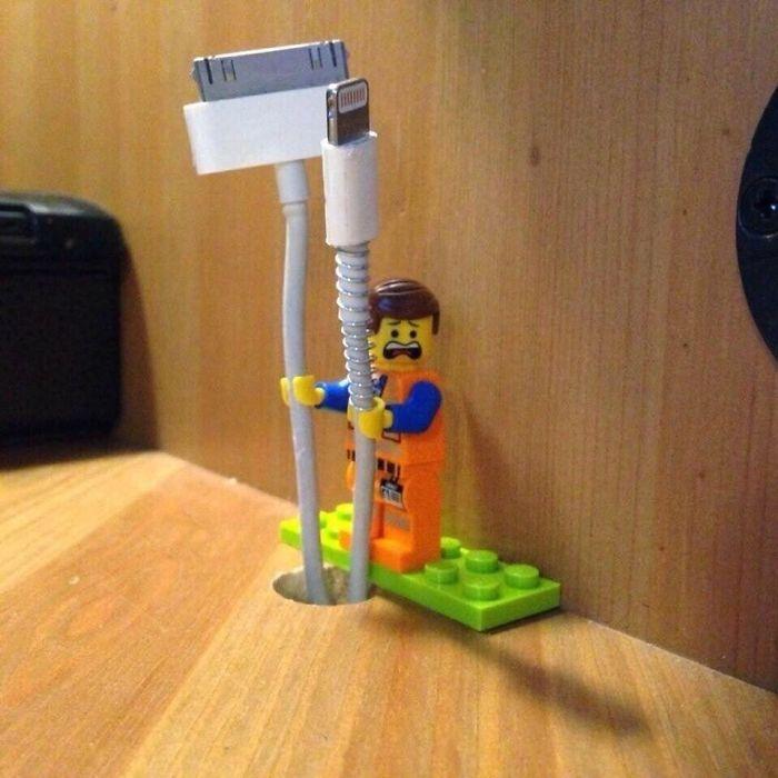 Porta trecos de Lego