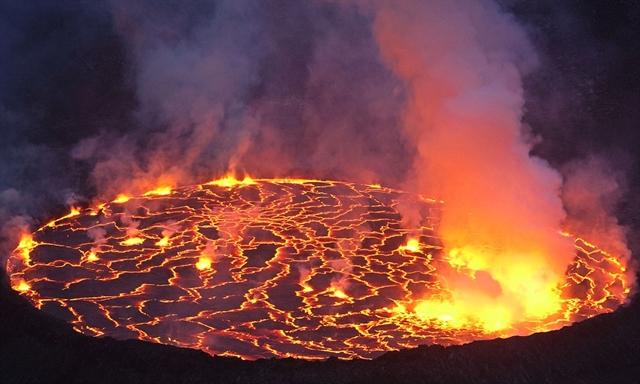 Vulcão Nyamuragira