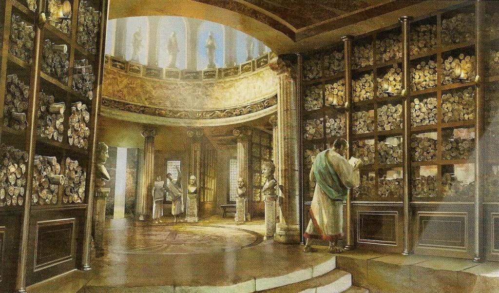 Biblioteca de Alexrandia