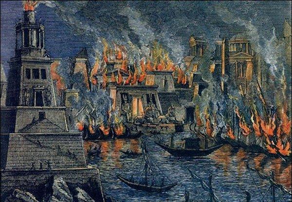 Incêndio em Alexandria