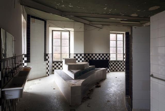 Banheiro de um castelo