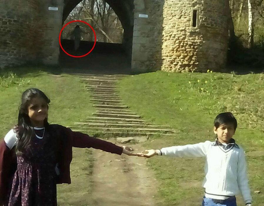 Fantasma em castelo