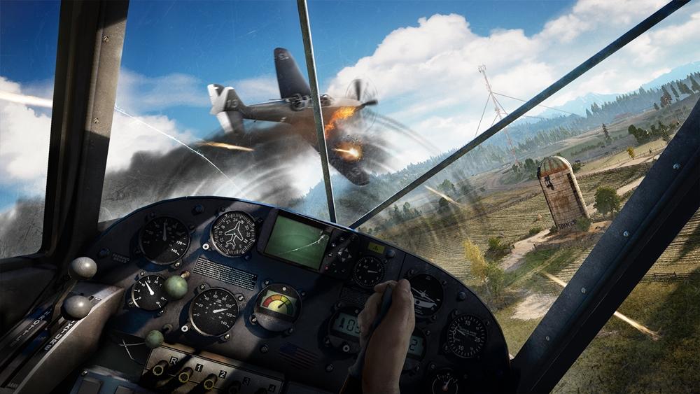 Far Cry 5 avião combate