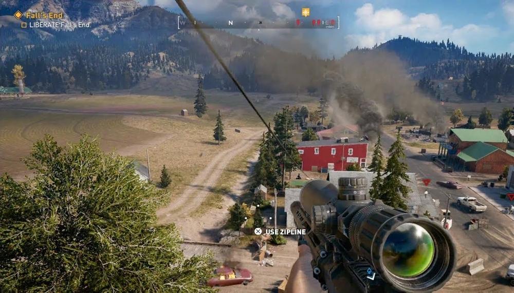 Far Cry 5 sniper rifle