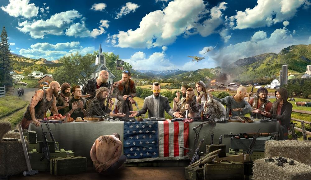 Far Cry 5 vilões inimigos