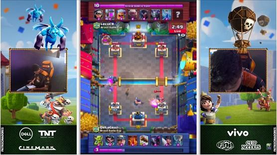 Uma captura de tela de um jogo