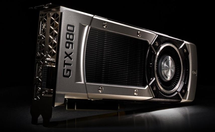 Uma placa GeForce GTV 1080.