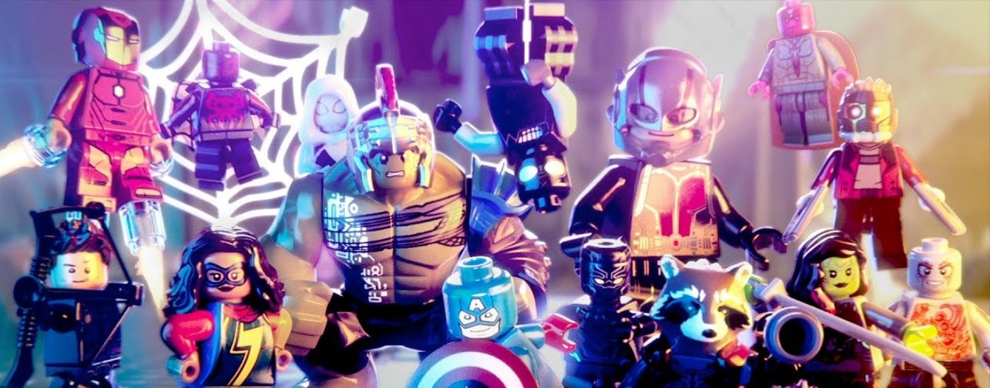 Personagens de LEGO Marvel.