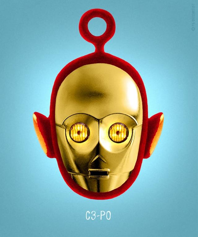 C-3PO + Po