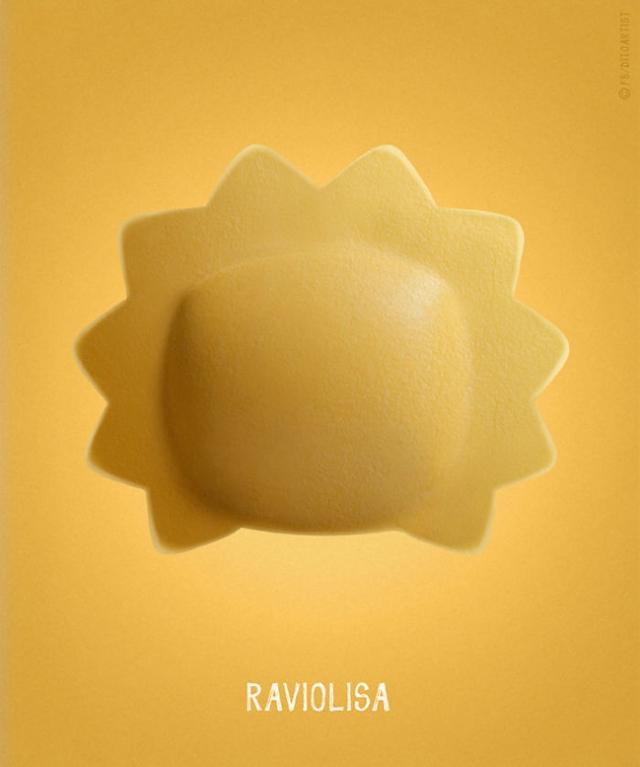 Lisa Simpson + ravioli