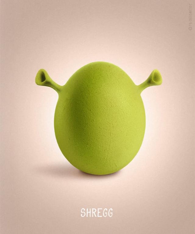 Shrek + ovo