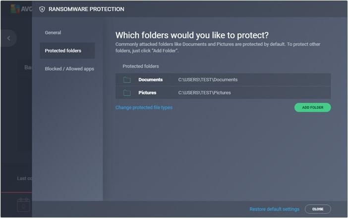 AVG Internet Security - Imagem 1 do software